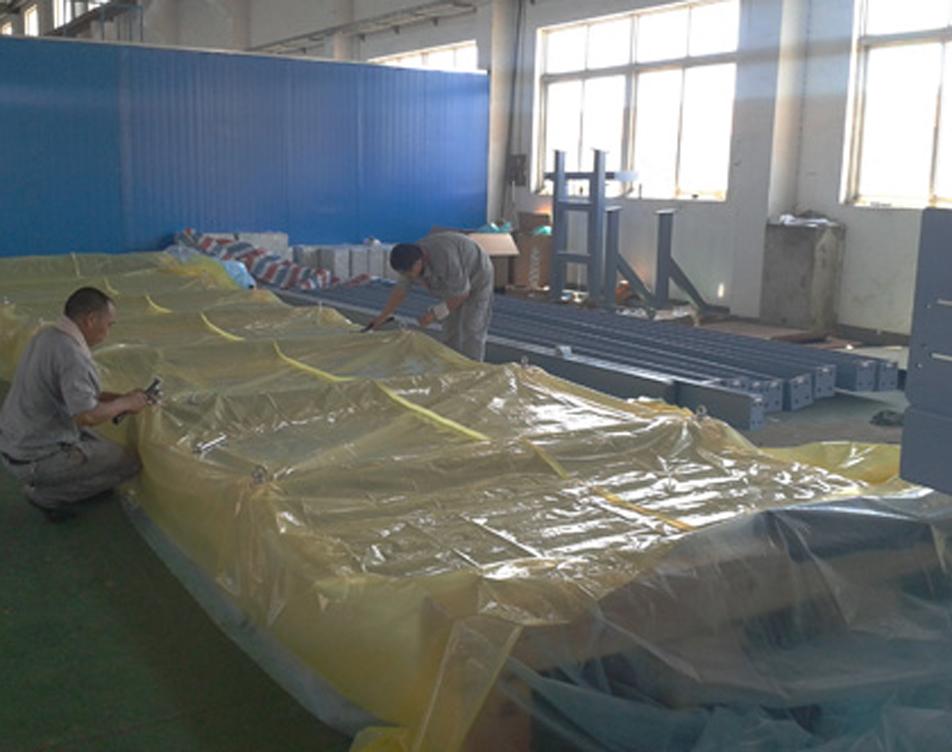 上海智胜机械公司现场包装图片