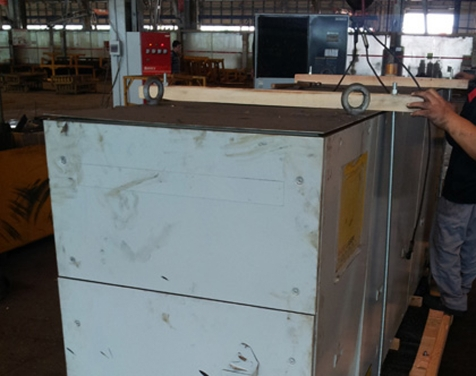 Sany Heavy Industry site packaging picture