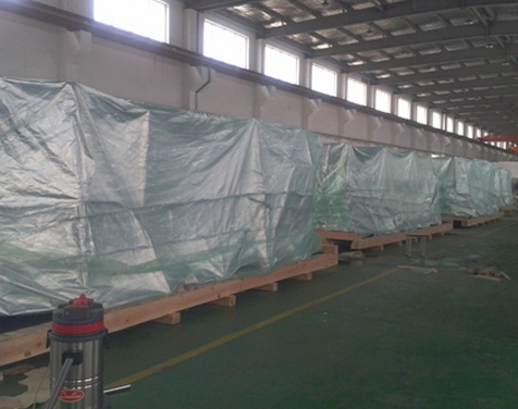 Shanghai Zhisheng Machinery Company on-site packaging picture